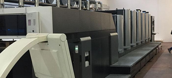macchina stampa Heidelberg